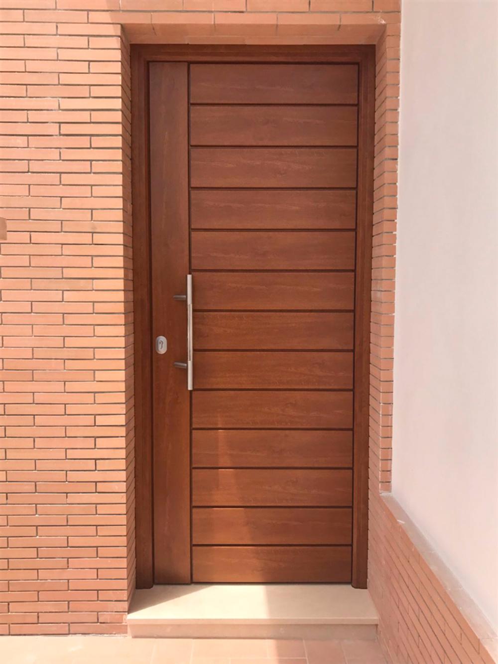 Puertas de entrada for Modelos d puertas