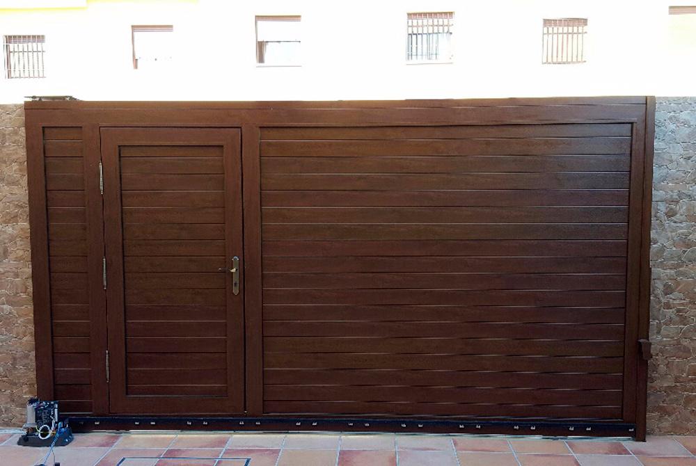 Puertas de garaje - Proyecto puerta de garaje ...
