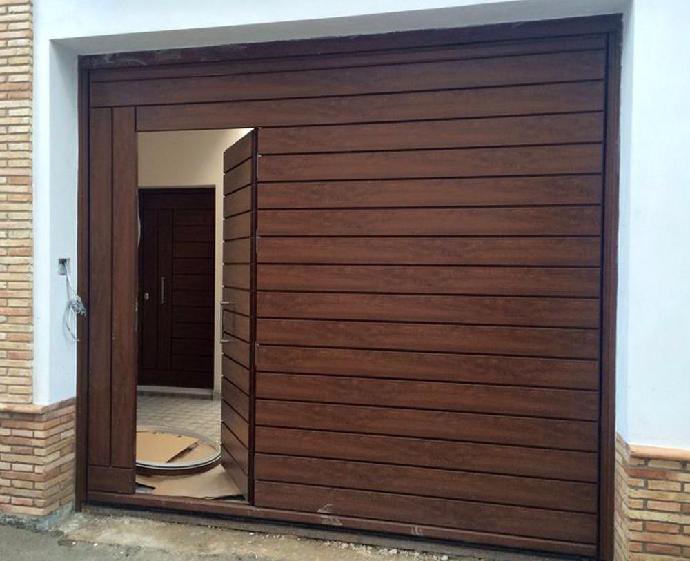 Puertas de garaje - Puertas uniarte sevilla ...